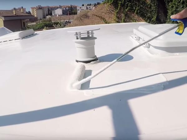 Impermeabilizzazione tetto camper
